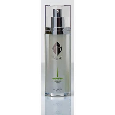 Image of Face Block SPF50 dispenser bottle 40 ml