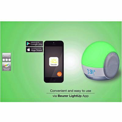 Image of Beurer WL 90 Wake-up Light and Beurer LightUp app