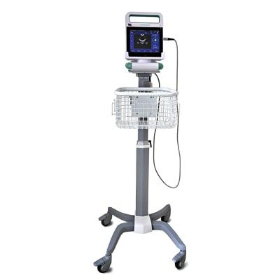 AvantSonic Z5 with trolley and basket for hospitals