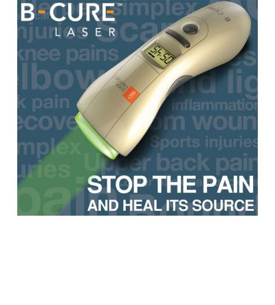 B-CURE Laser stops pain