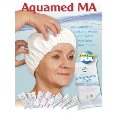 Aquamed MA Shampoo Cap