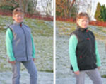 Heated body warmer reversible.q